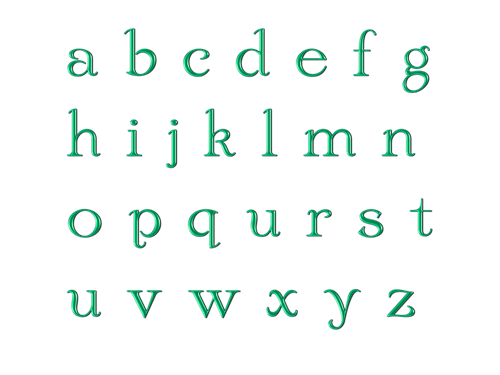 How many letters in the alphabet SkySeaTree zDbDb6uI