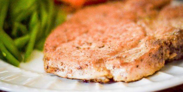 How to bake pork chop