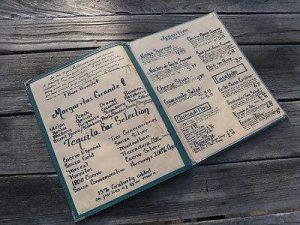 la hacienda menu
