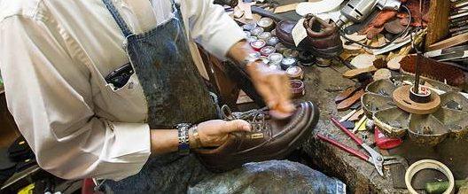 dwindling shoe repair industry